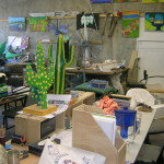 Community First workshop (my desk)